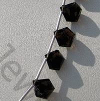 aaa Smoky Quartz Gemstone Polygon Diamond Cut