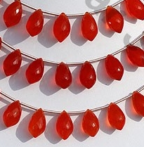 wholesale Carnelian Gemstone Chandelier Briolette