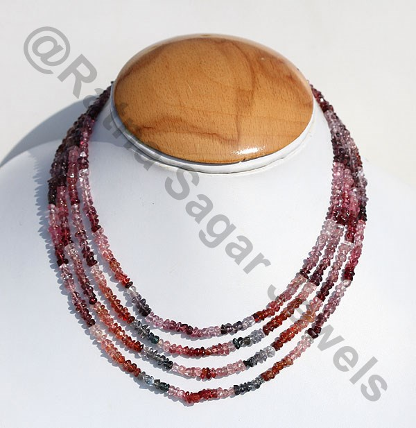 Multi Spinel Uncut Beads