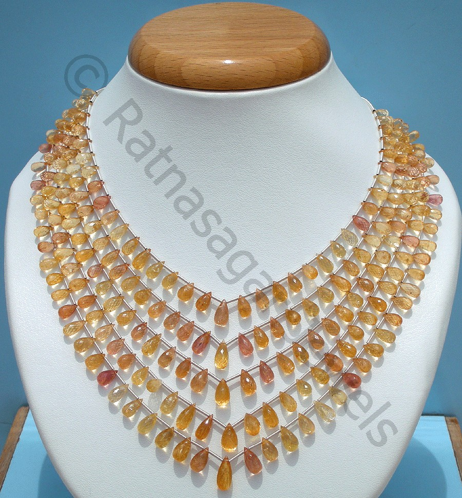 Imperial Topaz  Tear Drops Briolette