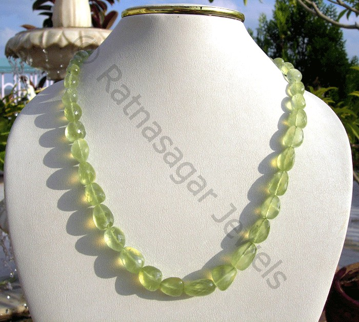 Prehnite Gemstone  Faceted Nuggets