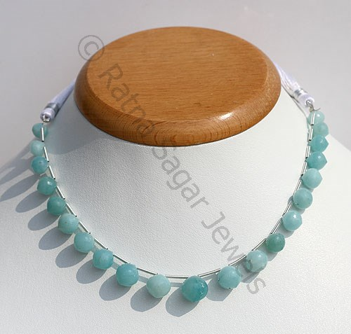 Amazonite Onion Shape Beads