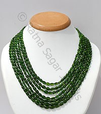Chrome Diopside-Oval Faceted
