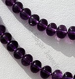 Amethyst Gemstone Plain beads