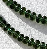 Green Apatite Gemstone Plain Beads