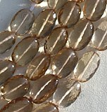 Champagne Citrine  Oval Faceted