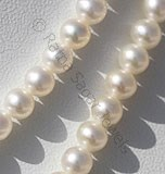Pearl Gemstone Plain Round