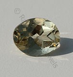 Scapolite Gemstone Oval Facet
