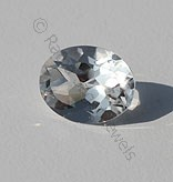 Crystal Oval Facet