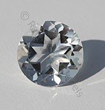 Crystal Gemstone Round Facet