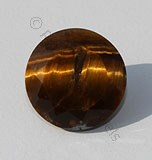 Tiger Eye Round Facet