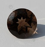 Smoky Quartz Round Facet