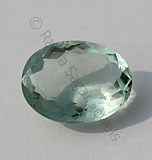 Fluorite Oval Facet