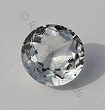White Topaz Round Facet