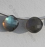Labradorite Blue Power Cushion Beads