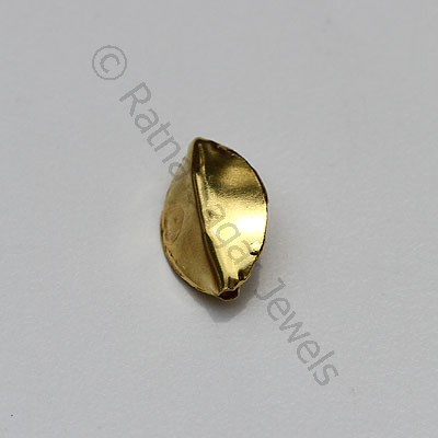 18k Gold Spherical Plain Beads