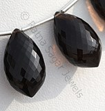 Smoky Quartz Gemstone-Dolphin Shape Beads