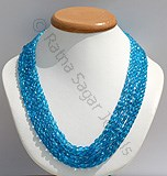 Apatite Gemstone Beads-Oval Faceted