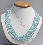 Aquamarine Gemstone-Oval Faceted