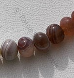 Botswana Agate Gemstone Plain Beads