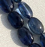 Kyanite Gemstone Oval Faceted