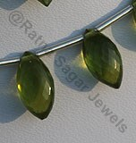 Vesuvianite Marquise beads