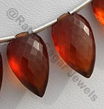 Spessartite Gemstone  Conch Briolette