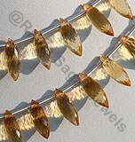 Citrine Gemstone  Dew Drops