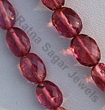 Pink Tourmaline Gemstone  Oval Faceted