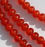 Carnelian Gemstone Plain Beads