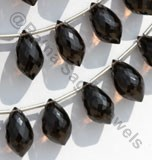Smoky Quartz Gemstone Chandelier Briolette