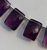 Amethyst Gemstone Fancy Cut