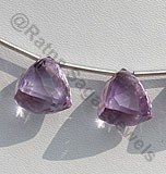 Pink Amethyst Faceted Chestnut