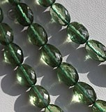 Green Apatite Gemstone Oval Faceted