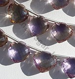 Ametrine Gemstone Betel shape beads