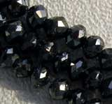Diamond Gemstone  Faceted Rondelle