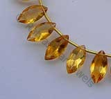 Citrine Gemstone  Marquise