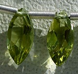 Peridot Gemstone Beads  Marquise