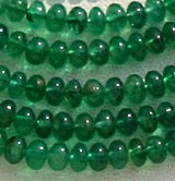 Emerald Gemstone Beads  Plain Beads