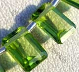 Peridot Gemstone Beads  Octagons