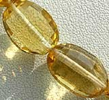 Honey Quartz  Oval Faceted