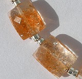 Sun Stone Oregon  Faceted Rectangles