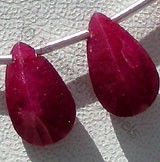 Ruby Gemstone Both Side Concave Cut