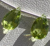 Peridot Gemstone Beads  Pan