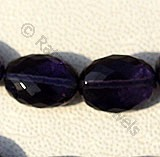 Iolite Gemstone Beads  Oval Faceted
