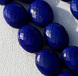 Lapis Gemstone Oval Faceted