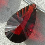 Garnet Gemstone  Both Side Concave Cut