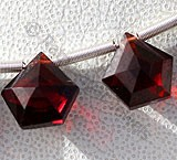 Garnet Gemstone Polygon Diamond Cut