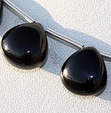 Black Spinel  Heart Plain