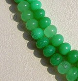 Chrysoprase Gemstone  Plain Beads